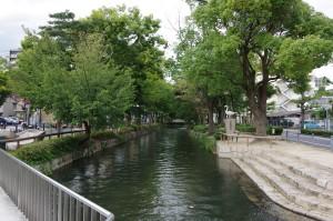 西川緑道公園 西川