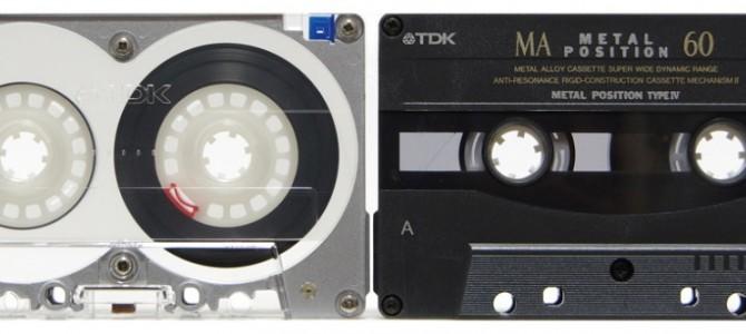 オーディオテープからCDに保存